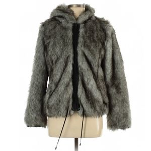 Asos Fur Jacket Size 6
